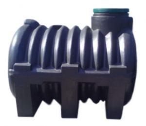 Септик пластиковый для канализации, емкость для монтажа в грунт 1500л
