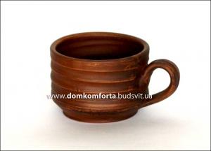 Чашка чайная 0,250 л глиняная