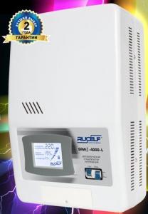 TM Rucelf Стабилизаторы релейные 1-ф. (напольное исполнение,LCD-индикация)  - второго поколения  SRWII-12000-L