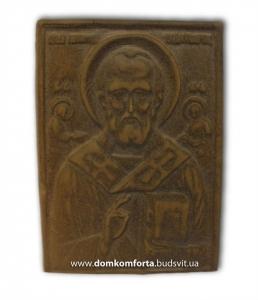 "Икона глиняная ""Николай Чудотворец"""