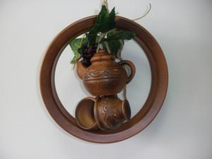Оберег глиняный - кольцо + 3 предмета