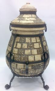 Тандыр  из шамотной глины Азиатский большой