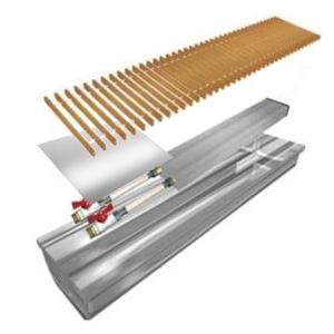Теплобренд Внутрипольный конвектор с естественной конвекцией
