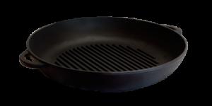 СИТОН Сковорода-гриль чугунная 200х35 мм