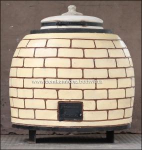 Тандыр утеплённый профессиональный 350 литров .