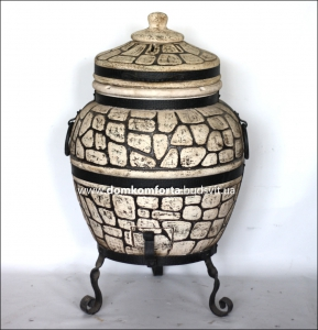 Тандыр  из шамотной глины  №3-С