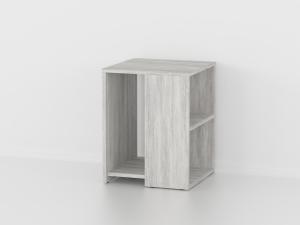 Приставной стол в цвете бетон