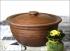 Сковорода глиняная 26 см с крышкой 2 литра